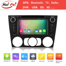 2015 HuiFei new android 4.4 car radio dvd player for car for BMW support bt gps navigation