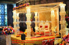 party stage decoration/indian wedding events decorations/wedding chair decoration