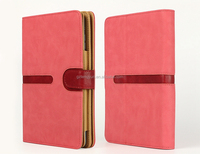 360 Degree rotating fashion leather case for ipad air/air 2