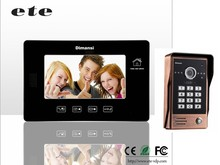Entry system apartment room to room intercom competition 4 wire install wireless video door phone