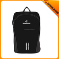Black Simple High Quality Waterproof Travel Sports School Backpack