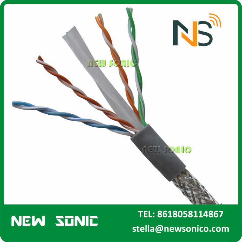 Low Loss Customized SFTP Cat6 FTP UTP Network Cable Cat5 Cat5e Jumper Cable Price Per Meter