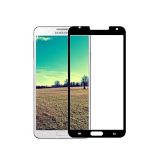 professional manufacturer 9H no bubble note 3 color tempered glass screen protector for samsung