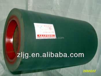14 inch green iron drum paddy husking rolls,rice huller rolls