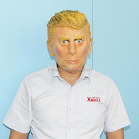 X-MERRY Celebrity Face Mask Donald Trump Latex Mask Party Christmas Birthday Fun Fancy Dress Parties