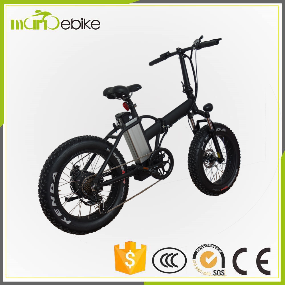 48V 500W bafang mid drive motor electric fat tire bike/fat e bicycle/snow ebike +LCD display