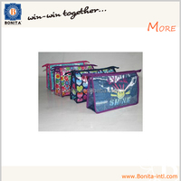 Promotional pvc lamination cosmetic bag