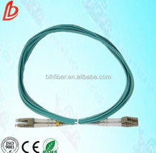 duplex LC to LC Multi mode OM3 Optical Fiber Patch Cord / Patch Cable