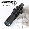 Hunting Riflescope SNIPER NT 1-6x24L Full Size Glass Etched Reticle RG illuminated Adjustable Objective Rifle Scopes