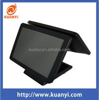Double Touch Screen Pos System All in one