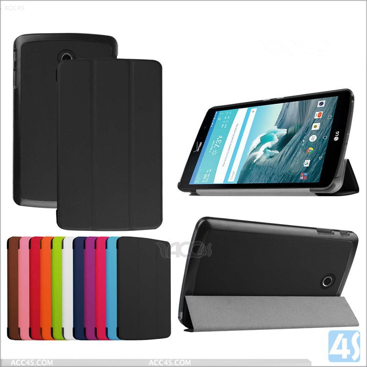 Luxury Magnetic Flip Folding Stand Leather Case For LG G PAD X 8.3/For LG G PAD F 8.0