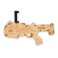 Wood Bluetooth Shooting Game Toy Player