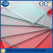 1.5mm 1.7mm 1.8mm 2.0mm cutting small size picture frame sheet glass