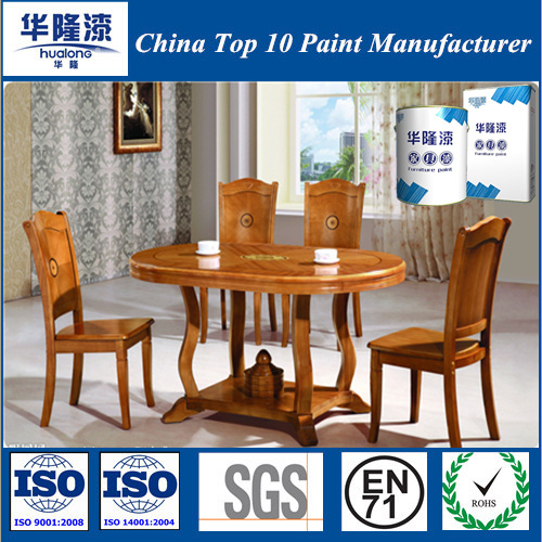 Hualong PU Transparent Furniture Primer for Light Solid Wood
