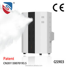 Smart Security System with PIR Door Sensor Alarm Set Anti-theft Smoke Fog Machine with GSM Optional
