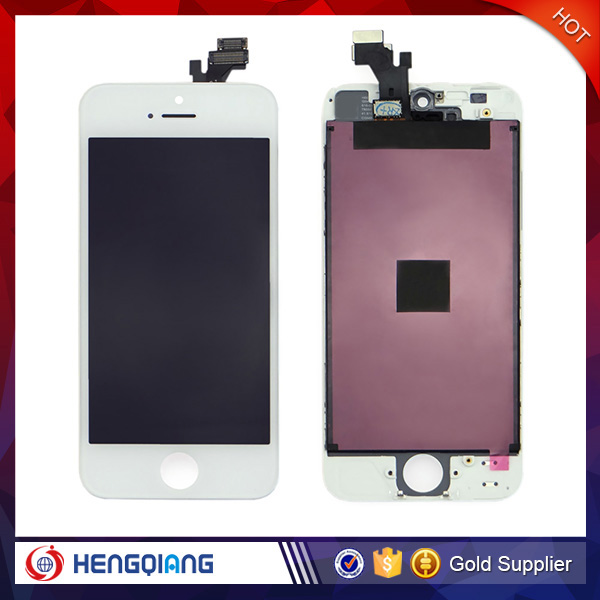 China supplier phone accessories mobile for iphone 5 lcd with digitizer,for iphone 5 lcd touch screen