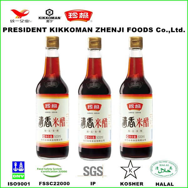 Unique fragrance brown color rice vinegar for cooking