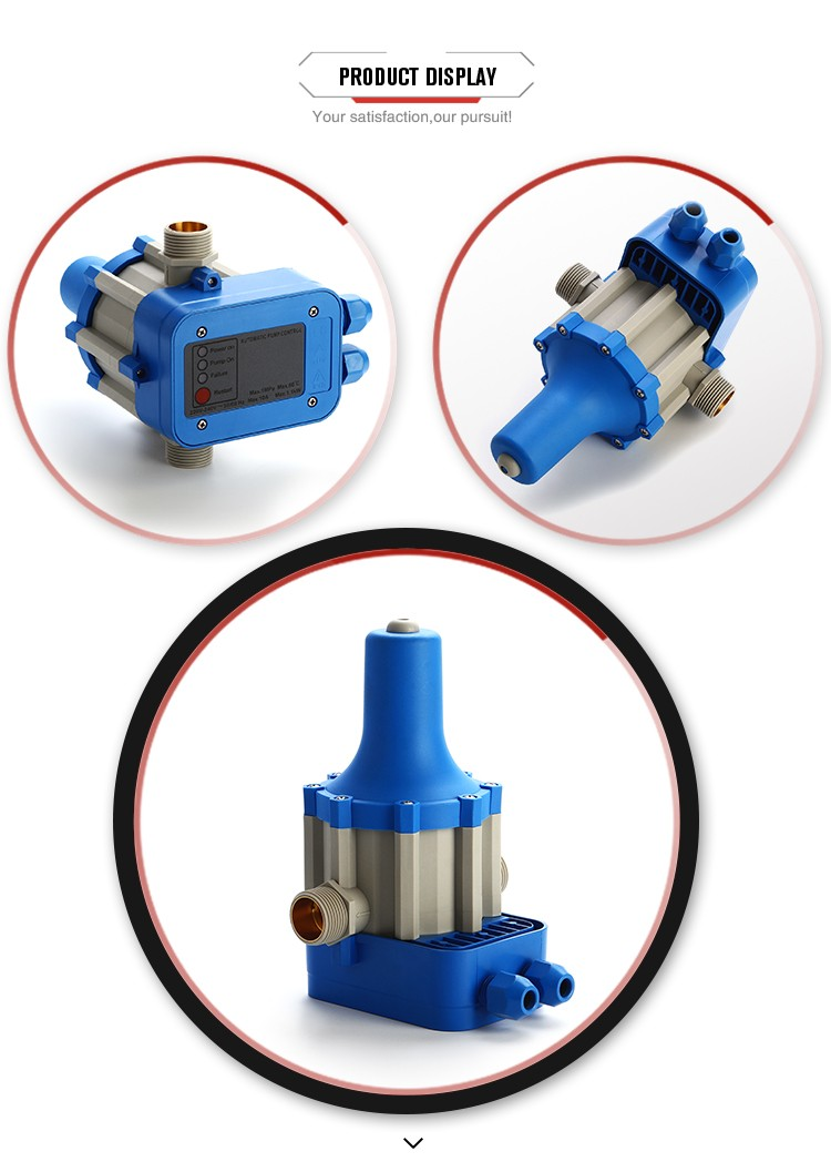 Factory supply corrosion resistance water pump automatic pressure control switch