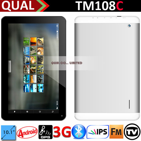 "10"" wifi 3g phone tablets and laptops with MTK8312 Dual Core 3G Calling Bluetooth GPS FM Android 4.4 B"
