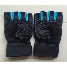 Composite materials weight lifting wrist support weight training gloves for Gloves Wrist Wrap Support