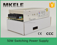 S-50-5 swich mode power supply 5v 10a adapter switching model power supply with safety approved