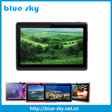Cheap Tablet PC 7 inch Android 4.2 Q88 allwinner a13 a23 a33 dual core 512MB+4GB WIFI Tablet pc