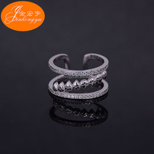 Wholesale high polished 925 sterling silver master slave ring