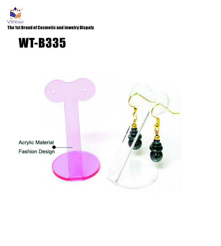 WT-B335 360 Degree Auto-rotation Solar Operated China Earing Display Showcase,