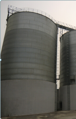 flour mill corrugated steel silo for grain prices