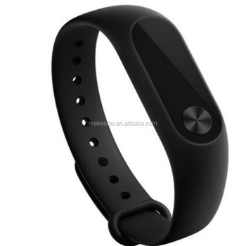 2016 Original miband Xiaomi Mi Band 2 Miband 2 Wistband Bracelet with Smart Heart Rate Fitness Touchpad 0.42inch OLED