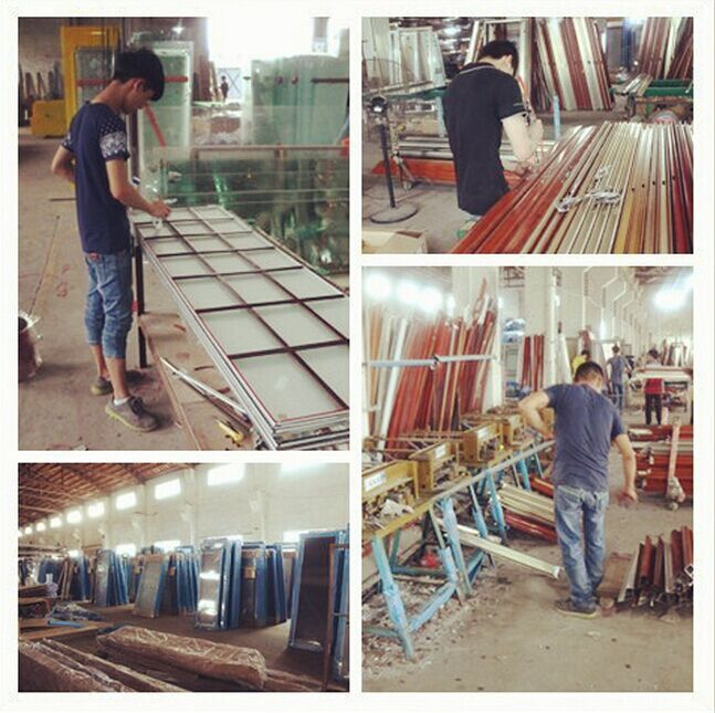 Import aluminum steel casement inward opening casement window