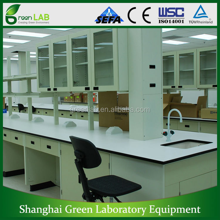 GREENLAB Center bench Laboratory furniture/Chinese lab furniture factory/Lab Workstaion