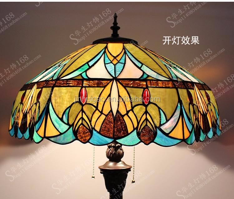 Tiffany floor lights luxury stained glass lamps modern decorative floor lamp