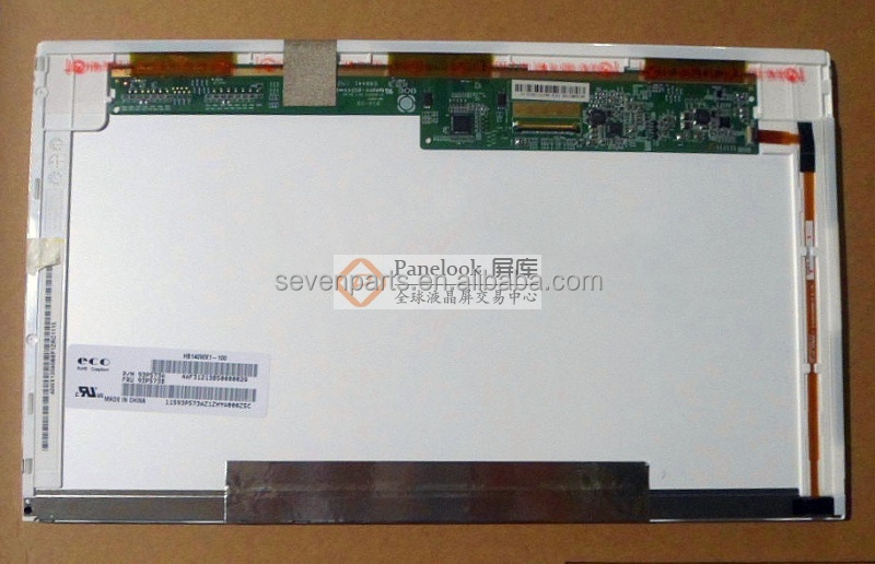14.0 Inch, Original New GradeA+ ,interface LVDS 40PIN HB140WX1-100 1366*768 lcd laptop