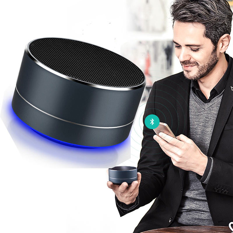 Micro USB Bluetooth speaker <strong>A10</strong> portable mini aluminum speaker box