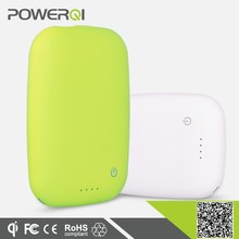 With qi reveiver Powerqi new arrival wireless power bank 40000 mah power bank external battery