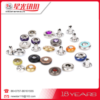 Hot sale good quality Metal rivet custom clothing buttons