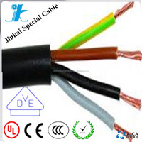 Twisted bare copper 1.5mm flexible equipped ground cable H07V2-R