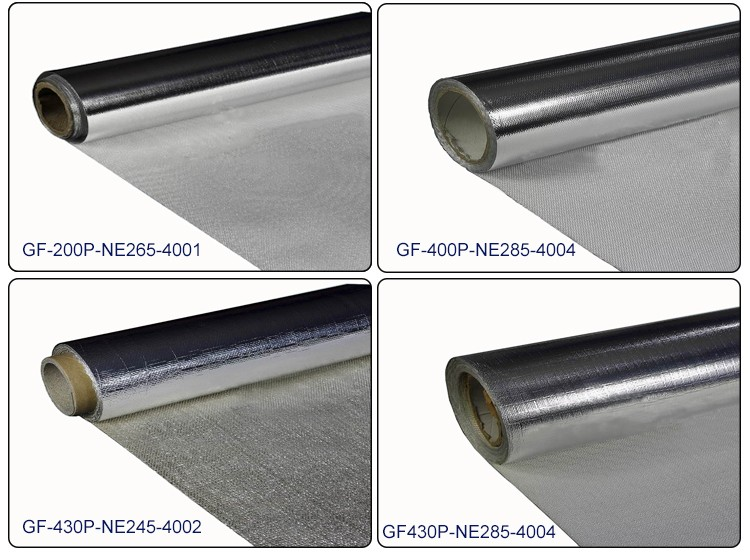 Double sided coated fiberglass insulation chemical for Is fiberglass insulation fire resistant