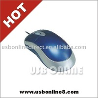 usb 2.0 wired optical mouse with retractable cable