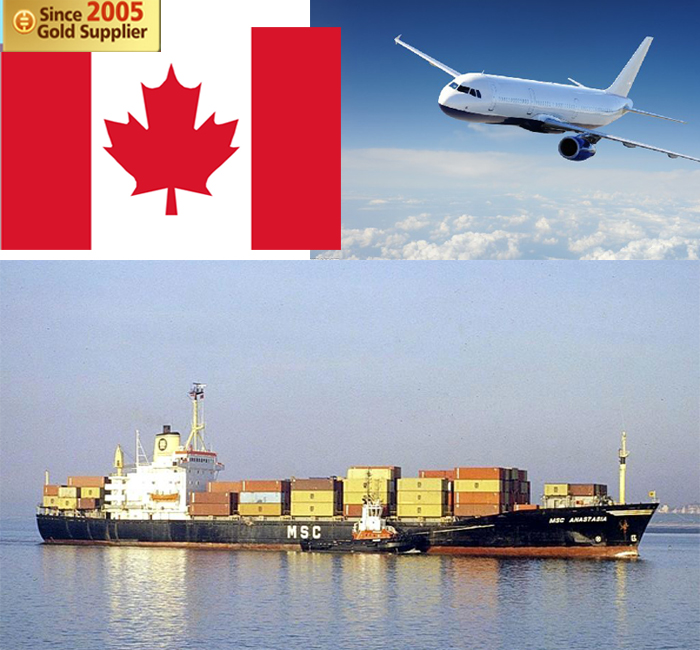 Professional Alibaba shipping cost courier freight forwarder from China to Canada Quebec Hamilton Georgetown logistics services