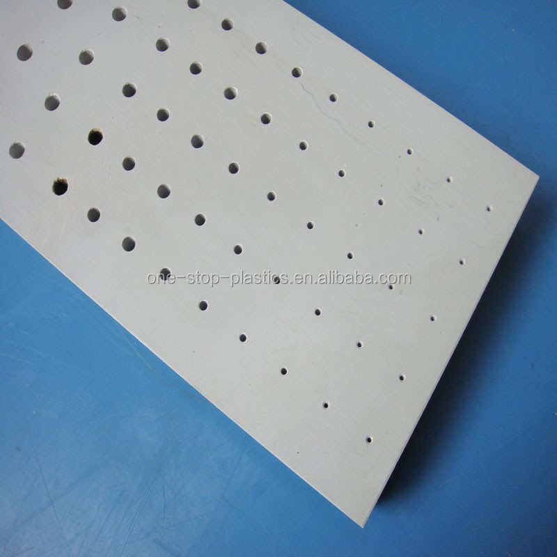 Customized plastic block board hard cnc machining plastic rigid pvc sheet