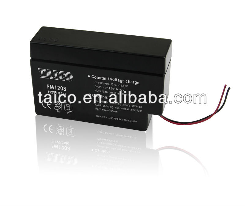 FM1208 Shenzhen TAICO 12v lead acid battery container