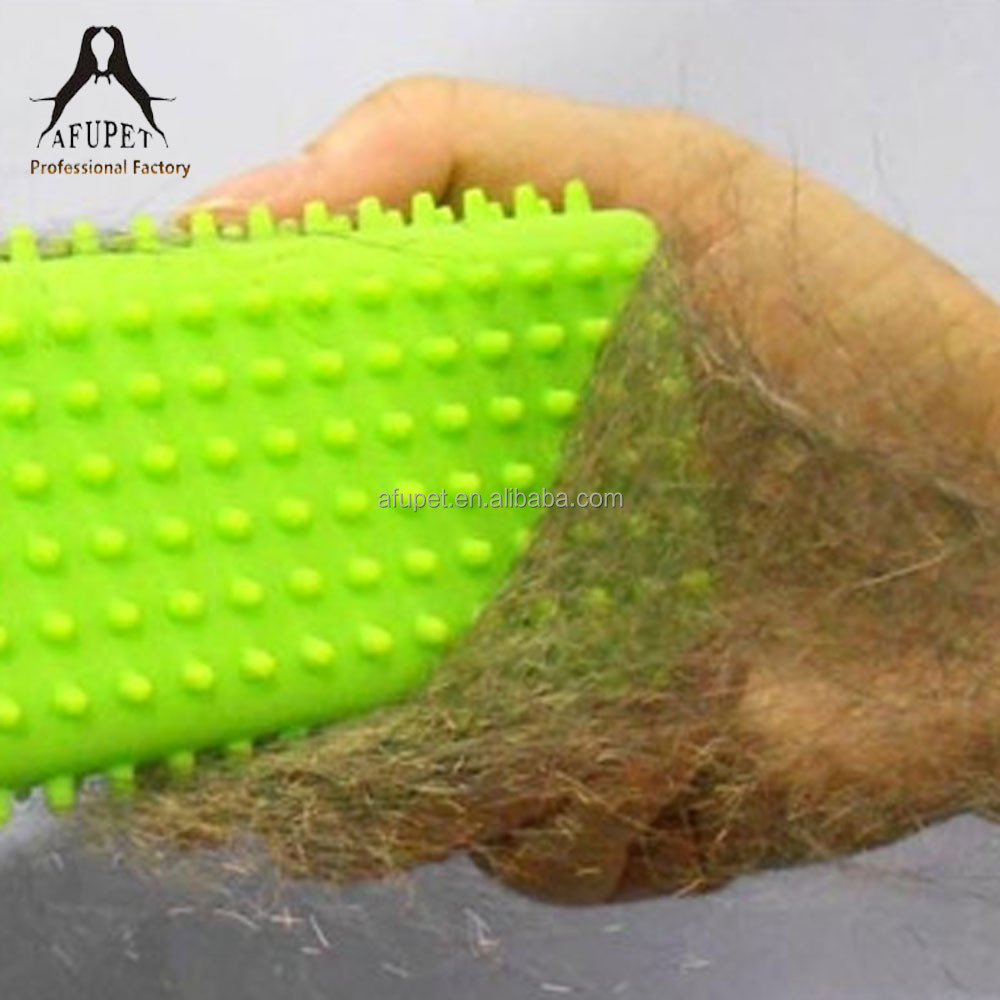 professional silicone dog massage brush for wholesale
