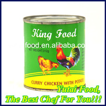 Wholesale Best Canned Food Curry Chicken with Potato