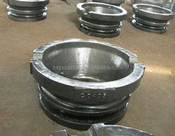 customized alloy steel casting aluminum lead ingot sow mold dross pan for aluminum industry manufacturing