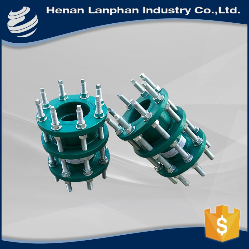 stainless steel ductile iron pipe fitting dismantling joint