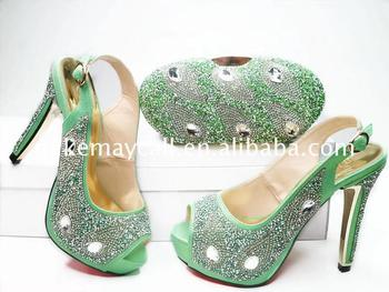 italian shoes and bag set lemon green bags to match ladies