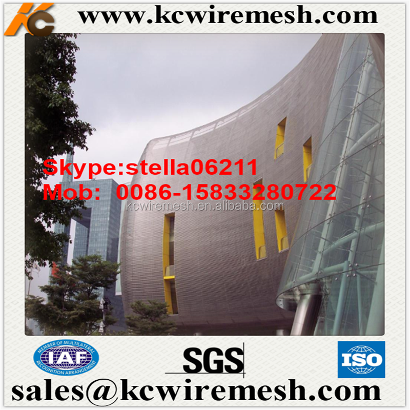 Factory!!!!! Kangchen architecture decoration perforated metal/ builing facade perforated metal mesh