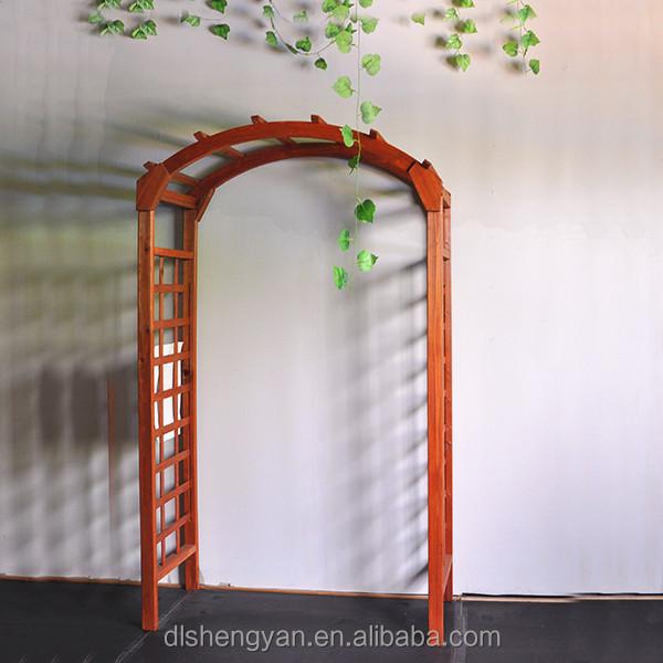 Moderne jardin d coratif jardin ext rieur arc bois for Arc de jardin en bois